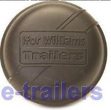 IFOR WILLIAMS 75mm BLACK GREASE DUST CAP 1992 - 1996 GENUINE PART